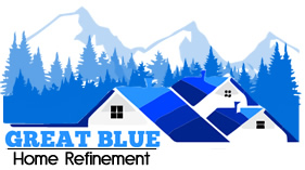 Great Blue Home Refinement Logo